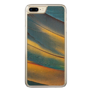 Scarlet Macaw feather close up Carved iPhone 7 Plus Case