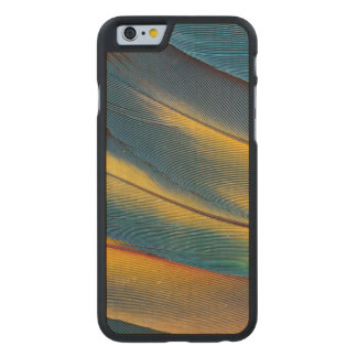 Scarlet Macaw feather close up Carved® Maple iPhone 6 Slim Case