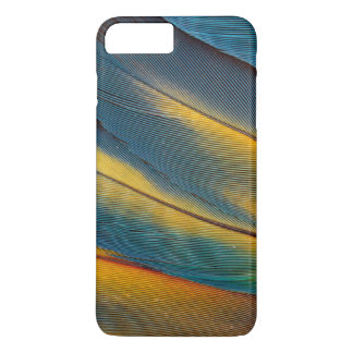 Scarlet Macaw feather close up iPhone 8 Plus/7 Plus Case