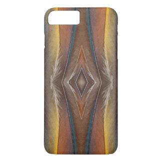 Scarlet Macaw feather design iPhone 8 Plus/7 Plus Case