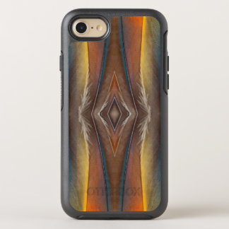 Scarlet Macaw feather design OtterBox Symmetry iPhone 7 Case