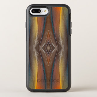 Scarlet Macaw feather design OtterBox Symmetry iPhone 8 Plus/7 Plus Case