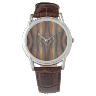Scarlet Macaw feather design Watch