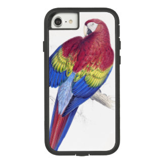 Scarlet Macaw Parrot Bird iPhone 7 8 Case