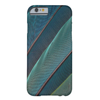 Scarlet macaw parrot feather barely there iPhone 6 case