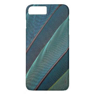 Scarlet macaw parrot feather iPhone 8 plus/7 plus case