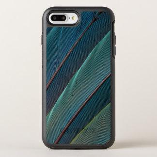 Scarlet macaw parrot feather OtterBox symmetry iPhone 8 plus/7 plus case