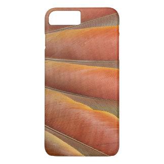 Scarlet Macaw Red-Orange Feathers iPhone 8 Plus/7 Plus Case