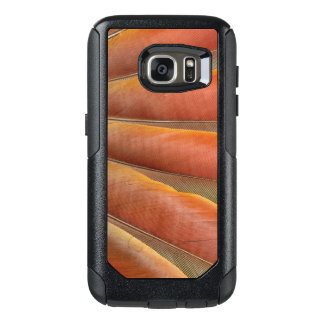Scarlet Macaw Red-Orange Feathers OtterBox Samsung Galaxy S7 Case