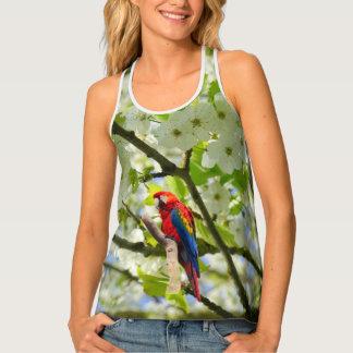 Scarlet Macaw Singlet