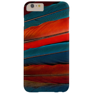 Scarlet Macaw Tail Feathers Barely There iPhone 6 Plus Case