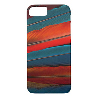 Scarlet Macaw Tail Feathers iPhone 8/7 Case