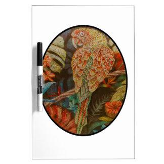 Scarlet Parrot Dry Erase Board