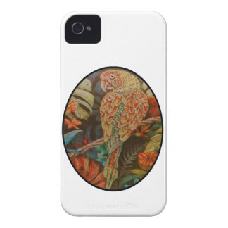 Scarlet Parrot iPhone 4 Case-Mate Cases