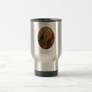 Scarlet Parrot Travel Mug