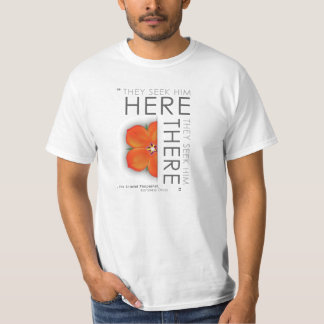 Scarlet Pimpernel Quote - Classic Literature T-Shirt