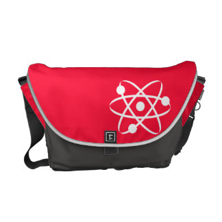 Scarlet Red; Atom Commuter Bags