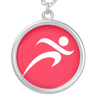 Scarlet Red Running Necklaces