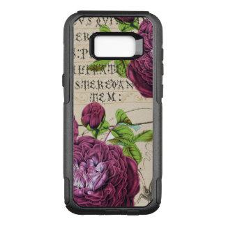 Scarlet Rose Vintage OtterBox Commuter Samsung Galaxy S8+ Case
