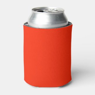 Scarlet Solid Colour Can Cooler