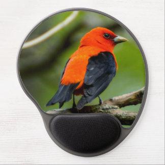 Scarlet Tanager Gel Mousepad