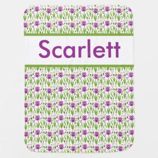 Scarlett's Personalized Iris Blanket
