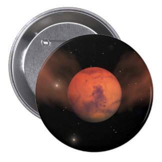 Scars of Mars Pinback Button