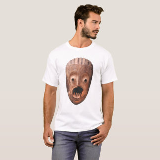 Scary african mask T-shirt