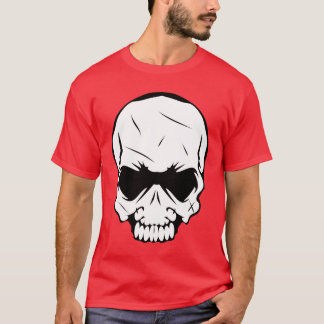 Scary Angry Skull T-Shirt