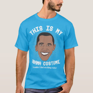 Scary Barack Obama Halloween Costume T-Shirt