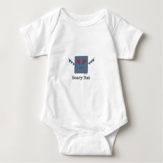 Scary Bat_monsters.011.013 Baby Bodysuit
