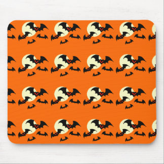 Scary Bats Mouse Pad