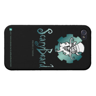Scary Beard logo 1 Case For The iPhone 4