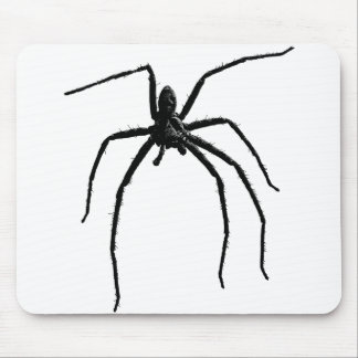 Scary big halloween spider mouse pad