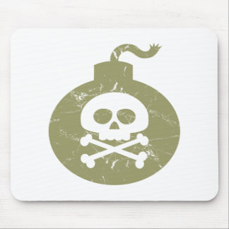 Scary bomb mousepads