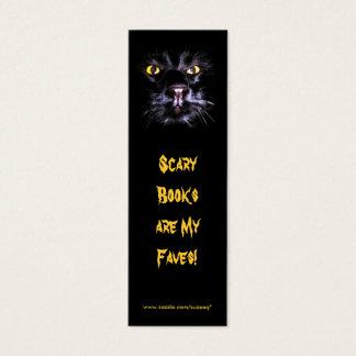 Scary Books bookmark Mini Business Card