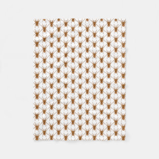 Scary brown  Fleece Blanket, Small