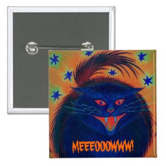 Scary Cat Blue 'MEEEOOOWWW!' button