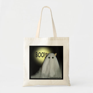 Scary Cat Halloween Tote Budget Tote Bag