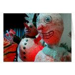 Scary Christmas Greeting Card