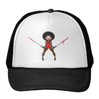 Scary Clown Design Cap