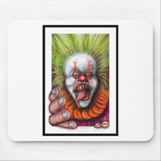 scary Clown Mouse Pads