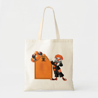 Scary Clown Tote Bag