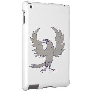 Scary Crow Raven iPad Case