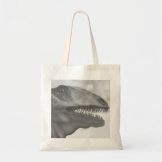 Scary Dinosaur Tote Bag