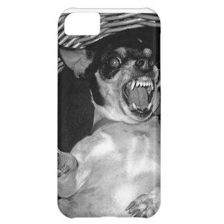 scary dog iphone 5 case