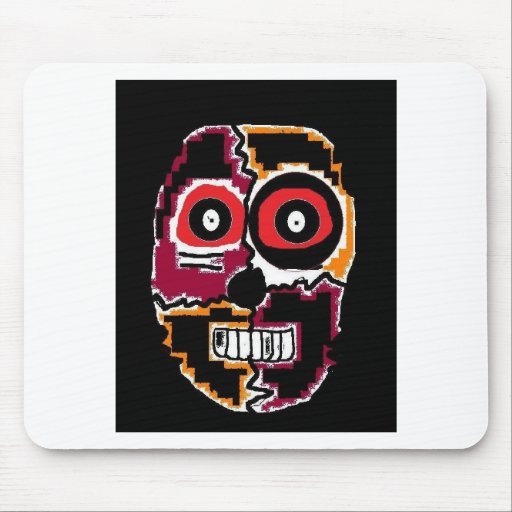 Scary Dude Mouse Pad