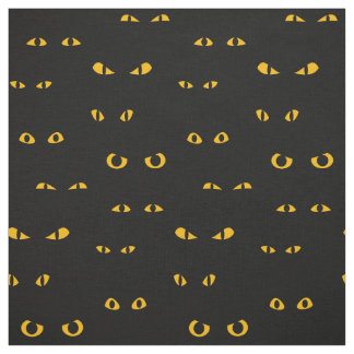 Scary Eyes Halloween Pattern Fabric