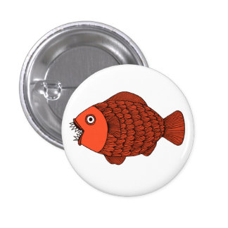 Scary Fish Buttons