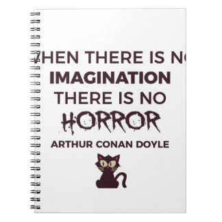 Scary Frightening Horror Halloween Design Notebook